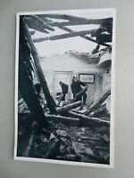 Ansichtskarte Brandkatastrophe Altes Schloss Stuttgart 1931 Feuerwehr (3)