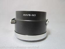 Camera Adapter For Arriflex Arri S Mount Cine Lens to Nikon 1 J4 S2 V3 AW1 J3 J2