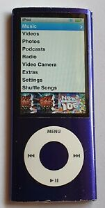 Apple iPod Nano 5th Generation 8GB - Purple - Serial No: 6U9464QK721