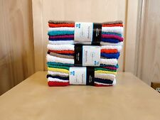 Wholesale 54 PC=3PACK Mainstays 100%Cotton Washcloth Collection Assorted Colors