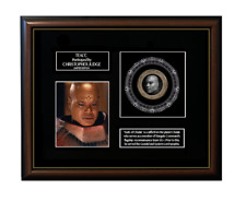 NEW! STARGATE SG1 - TEAL'C FRAMED GOLD COIN DISPLAY - Limited Edition!