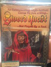 Sword Quest Volume 1 & 2 VERY RARE PC Game