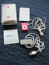 APPLE  iPOD  SHUFFLE  Special Edition Model A1204 RED  1GB RED IPOD