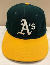 Oakland A's Athletics Baseball Hat Cap Embroidered Size 7-3/4