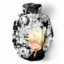 My Hero Academia Bakugou Katsuki  Hoodie Sweatshirt Cosplay Jacket Coat Custome