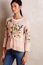 $168 Anthropologie Winged Wonder Cardigan Dress Sweater by Moth M L RARE HTF