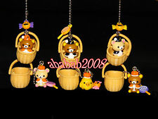 Koro Koro Rilakkuma Bear keychain Halloween figures gashapon (full set 6 Pcs)