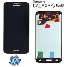 DISPLAY LCD Samsung G903 Galaxy S5 NEO-NERO touch vetro modello ORIGINALE