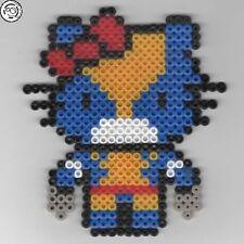 Hello Kitty - Wolverine - Bead sprite perler pixel art - Perles à repasser