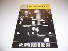 1966 ANTA THEATER PLAYBILL - THE ROYAL HUNT OF THE SUN - R BURR DACID CARRADINE