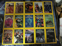 NATIONAL GEOGRAPHIC MAGAZINE Lot #3 - 32 backissues 1993-2004