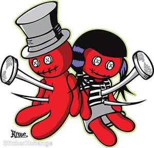 Voodoo Luv Sticker Decal by Artist Kruse RK11
