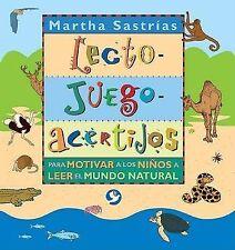 NEW Lecto-juego-acertijos: Para motivar a los niños a leer el mundo natural