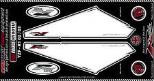 Yamaha YZF R1 2002 - 04 Rear Fairing Number Board Motografix 3D Gel Protector