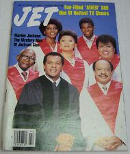 Jet Magazine Marlon Jackson November 1987 Digest Size 091012R