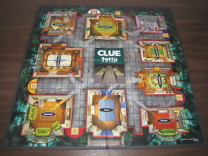 2002 CLUE Board Game Part/Piece: Replacement GAME BOARD ONLY Crafts Standard