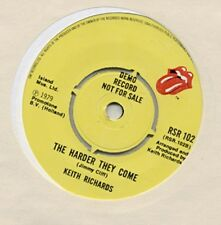 KEITH RICHARDS Run Rudolph Run/The Harder They Come UK DJ 45