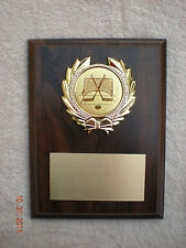 Ice/Roller Hockey Award Plaque 6x8 Trophy FREE engraving
