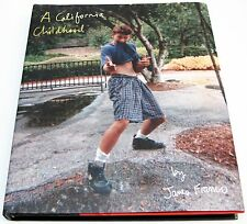 California Childhood by James Franco Hardcover SIGNED w/DOODLE 1st ed 2013