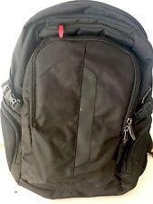 Wenger Black Three Pocket Backpack with Computer Pocket NWOT
