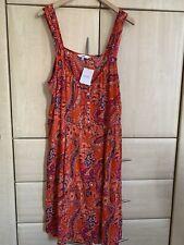 BNWT Next Dress Summer Beach Cotton Size 18