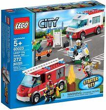 Lego City 60023 Fire rescue Fire starter set & mini figures BNIB
