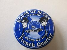 House of Blues pinback button
