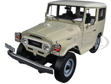 1977 TOYOTA LAND CRUISER FJ40 CREAM LIMITED EDITION 1/18 MODEL BY CULT CML016-1