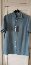M&S men's soft touch relaxed fit shirt size small BNWT £25 RRP