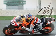 Nicky Hayden signed 12x8 Image G photo UACC Registered Dealer AFTAL RACC Trusted