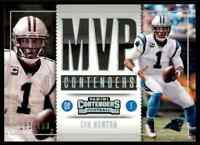 2017 PANINI MVP CONTENDERS CAM NEWTON 161/199 CAROLINA PANTHERS #MC-21 PARALLEL