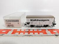 CO756-0,5# Fleischmann H0/DC 5346 K Kühlwagen Ghk/1678 DRG NEM KK KKK, NEUW+OVP