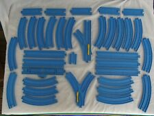 Tomy Trackmaster Blue Track Bundle x 35 pieces various
