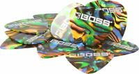 New Boss BPK-12-AM Medium Celluloid Guitar Picks (Abalone, 12-Pack)