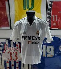 Maillot jersey shirt real madrid raul zidane benzema 2004 2005 04/05 L vintage
