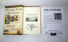 PRESIDENT BARACK OBAMA SIGNED DREAMS FROM MY FATHER 1ST EDITION BOOK PSA/DNA COA