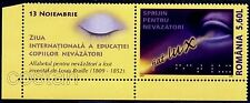 2007 Eye,Braille,Help for Blind,Blinden,Aveugle,Romania,Mi.6251,Zf/TAB/I/L,MNH