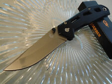 "Gerber Airlift FE Black Champagne Tactical Pocket Knife 5Cr15MoV 4660117A 7"" Op"