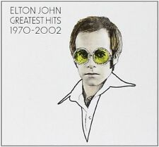 Elton John The Greatest Hits 1970-2002 CD (uk) 2 Disc Rock Album 2002