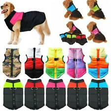 Winter Pet Dog Vest Jacket Warm Waterproof Clothes Padded Puppy Coat Small/Large