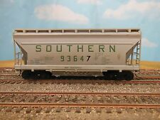 HO SCALE SOUTHERN AIRSLIDE HOPPER (WITH BLEMISH) KIT BUILT