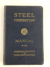 AISC Steel Construction Manual 5th Edition 1947 Post WWII