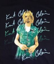 Vintage Kurt Cobain Nirvana In a Dress The End of Music 1993 Tee Shirt Xl