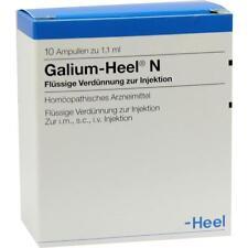 Galium Heel N AMPOULES 10 pièces pzn 1675711