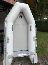 VM 2.3m Inflatable Dinghy/Sib/Tender/Boat Grey, Airdeck, keel