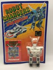 Vintage Robot Changers Space Sports Car Transformer Toy MOC 1980's Japan