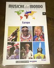 """Libri/Riviste/Giornali""""MUSICHE DAL MONDO EUROPA BRETAGNA N°37""""Fabbri"""
