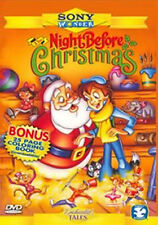 Enchanted Tales - The Night Before Christmas (DVD, 2010) * NEW *