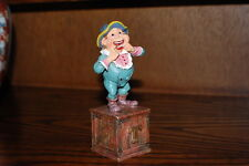 Efteling Holland Gnome Letter T Teeth Statue The Laaf Collection 1998 Ltd Ed