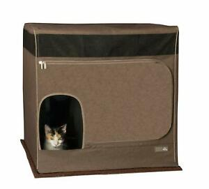 Pet Gear Pro Pawty for Cats Litter Box House Cover Container Espresso